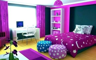 Color Ideas of Teenage Girl Bedroom